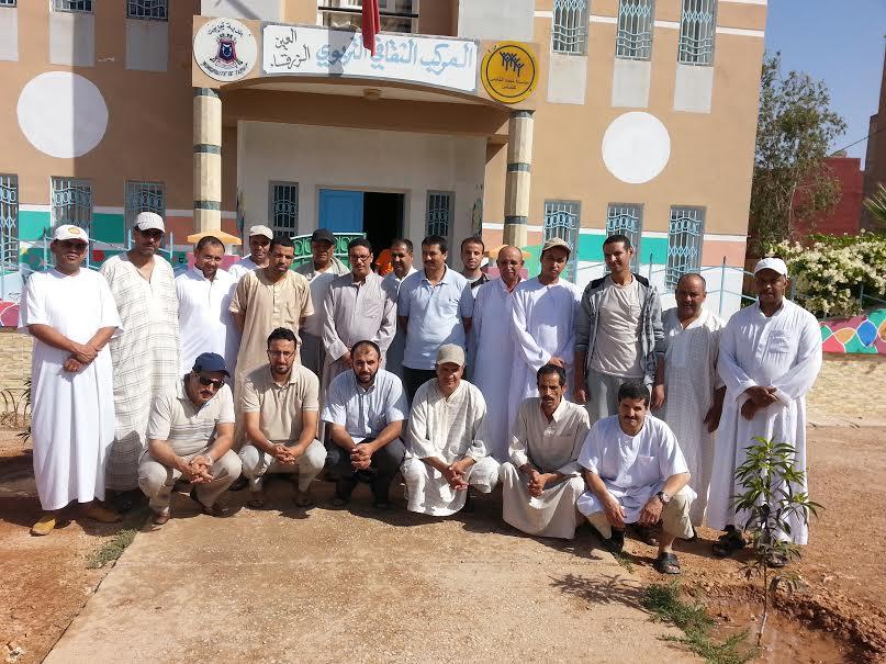 جمعية المستقبل تجزئة حاما بحي النخيل تجدد مكتبها