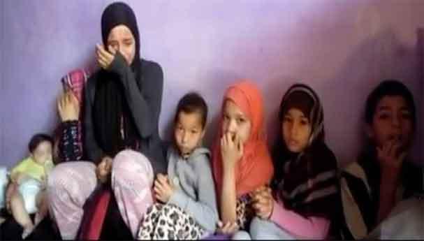 شيماء الطفلة التي تعول ستة أطفال وتصارع من أجل غد أفضل