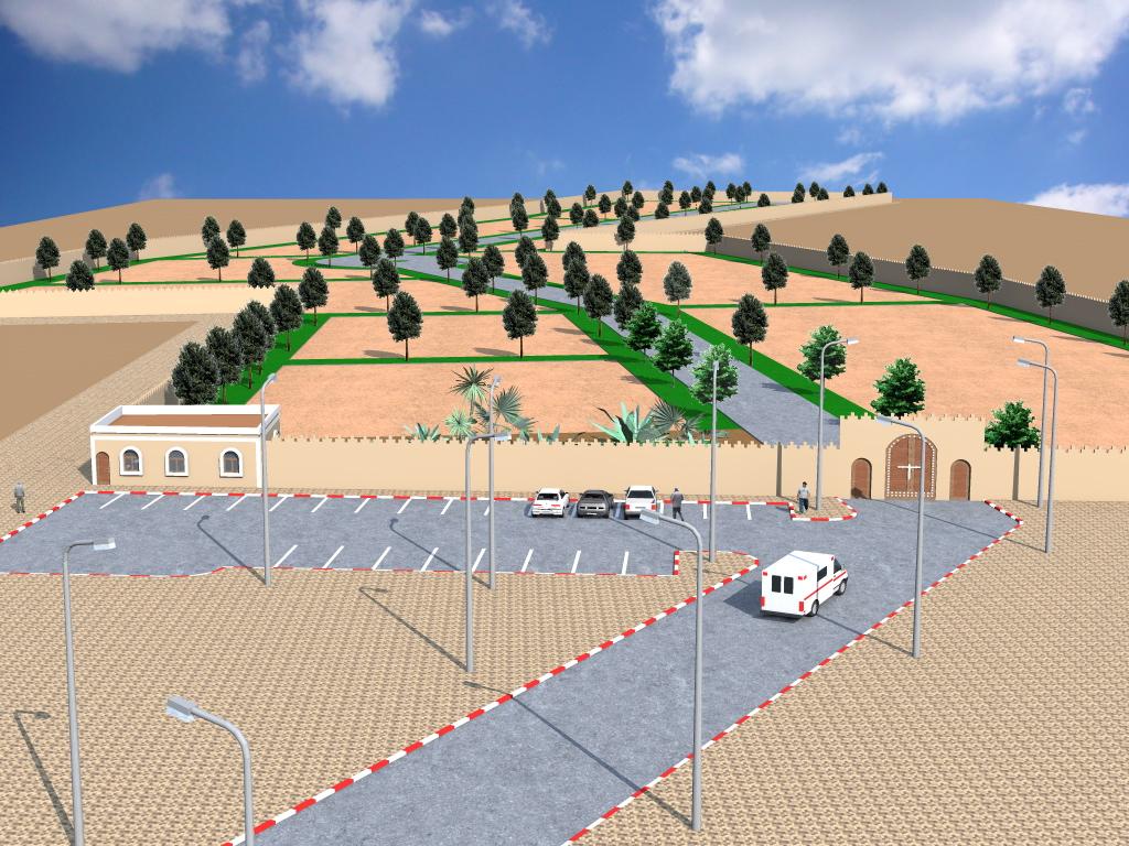 افتتاح مقبرة الرحمة بمدينة تيزنيت