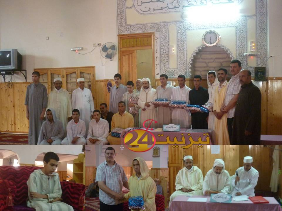 تتويج الطالب ياسين لطرش في مسابقة حفظ وتجويد القرآن الكريم ببلدية لاخصاص