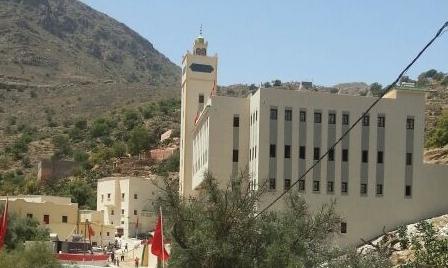 افتتاح مسجد لصلاة الجمعة بالمدرسة العلمية العتيقة اكضي