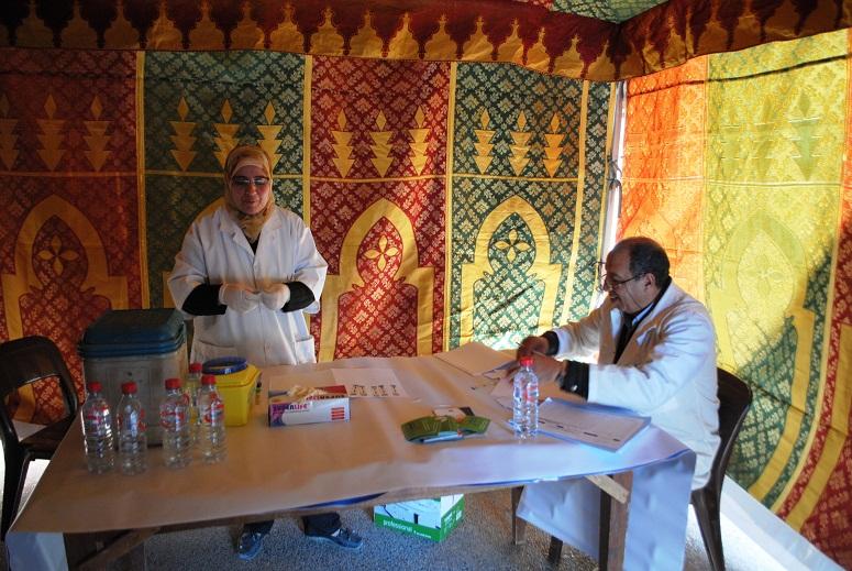 بلدية تيزنيت تنظم حملة طبية لفائدة الأعوان