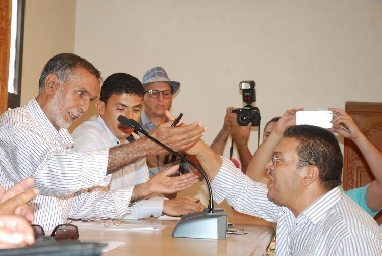 البونية في انتخاب الرئيس الجديد لغرفة الصناعة التقليدية بجهة مراكش آسفي