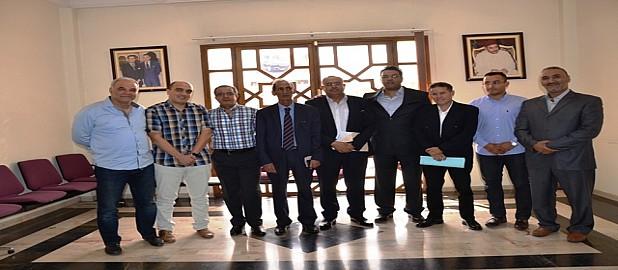 كريم اشنكلي رئيسا جديدا لغرفة التجارة والصناعة والخدمات لاكادير والطيب كوسعيد نائبا لأمين المال