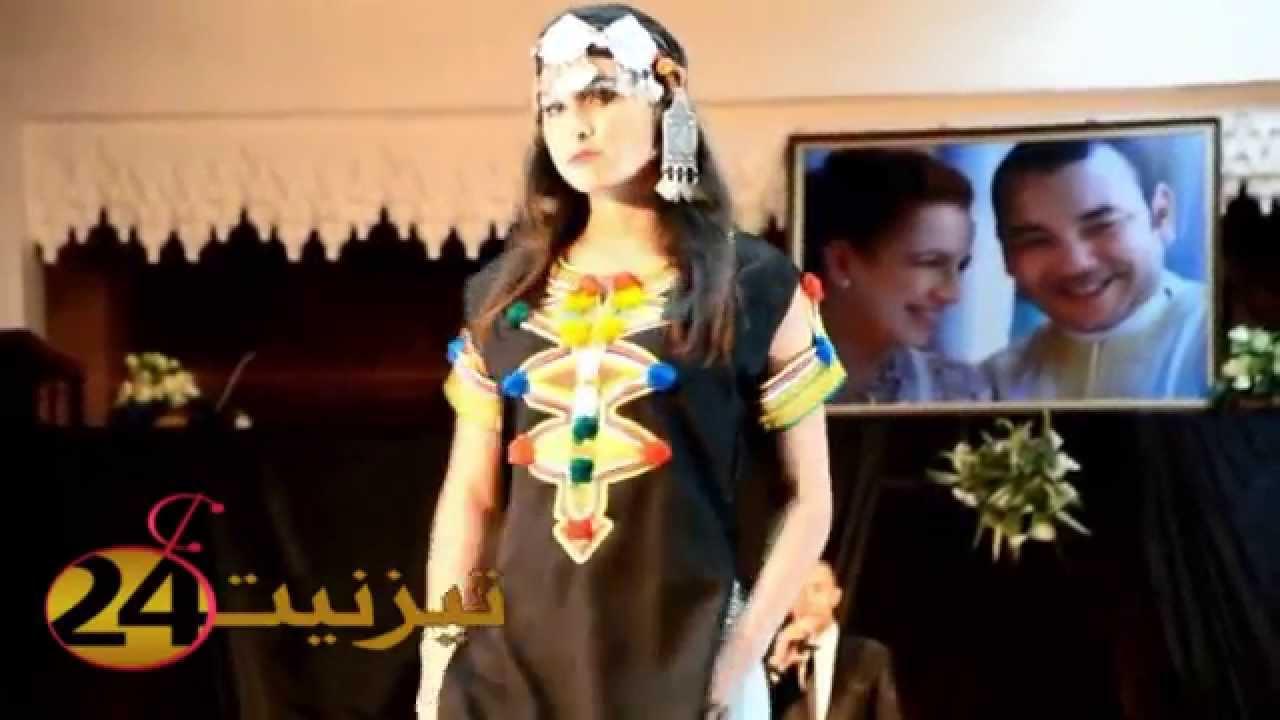 عرض الأزياء بمهرجان تيميزار