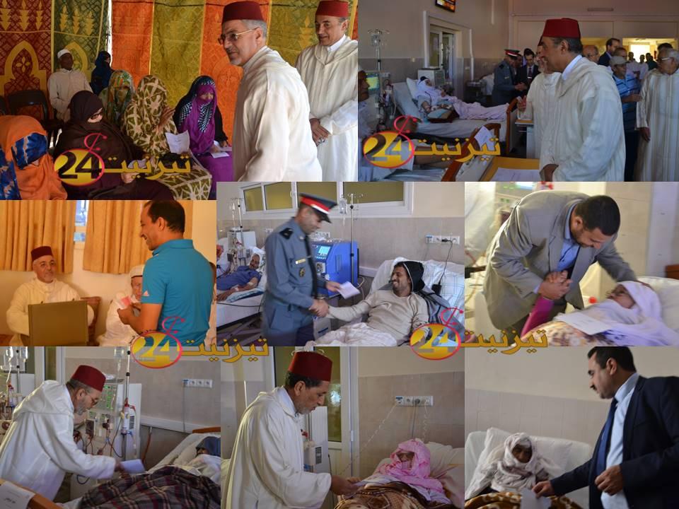 ربورطاج مصور عن زيارة الحاجب الملكي لمركز باني لتصفية الدم بتيزنيت