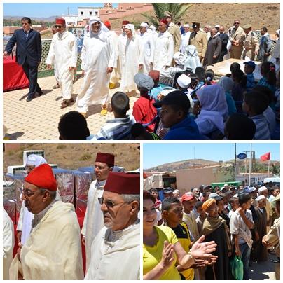 بالصور : زيارة الحاجب الملكي لضريح سيدي احمد اموسى