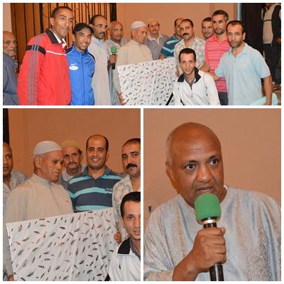 تكريم فاعلين جمعويين بموسم سيدي عبد الرحمان