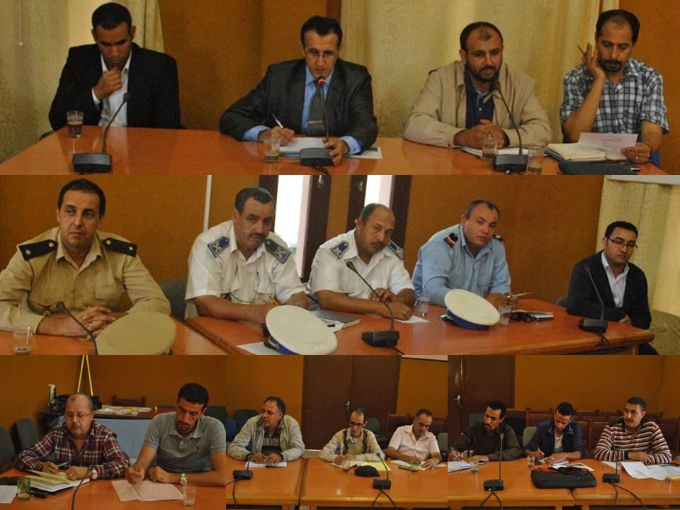 باشا تيزنيت يجتمع مع المنتخبين لمناقشة التدابير المتخدة لاستقبال موسم الأمطار.