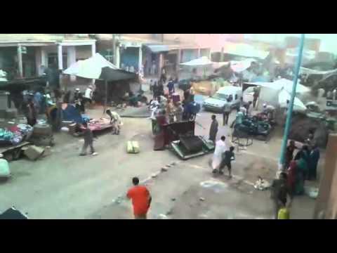 رياح عاتية في سوق لخصاص