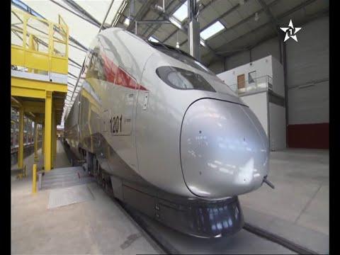 تدشين ورشة القطار السريع