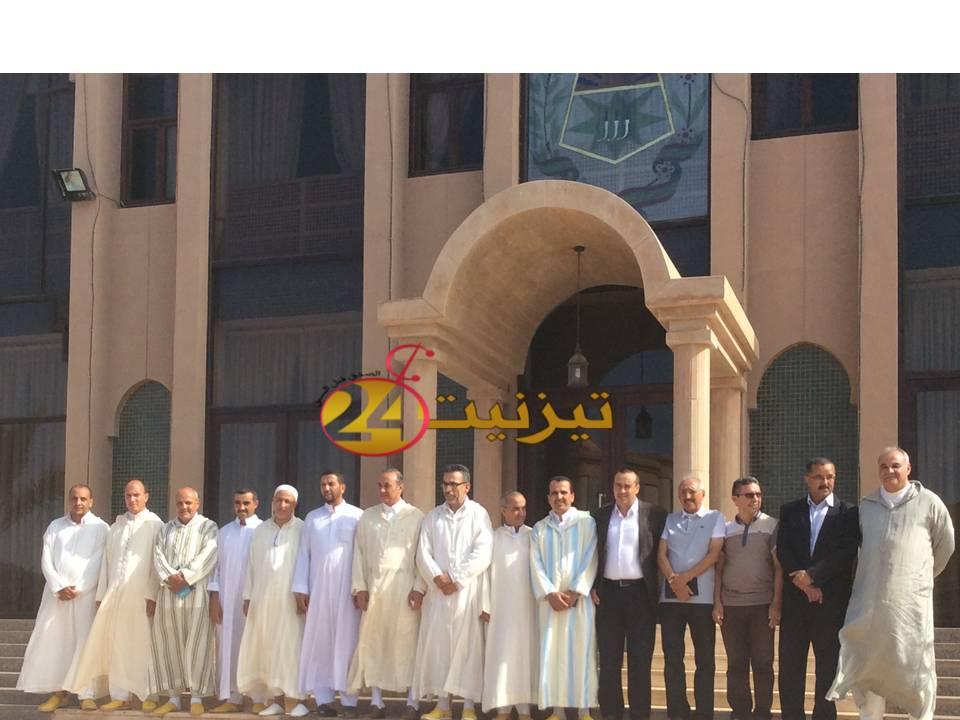 انتخاب عبد الله غازي رئيساً للمجلس الإقليمي لولاية ثانية، وهذه تشكيلة المجلس  / مرفق بصور