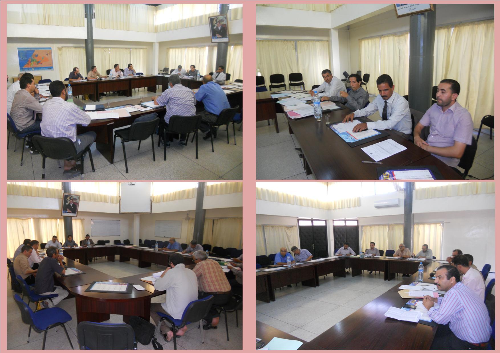 لجنة فض النزاعات بنيابة تيزنيت تجتمع لتدارس قضايا الدخول المدرسي 2015/2016