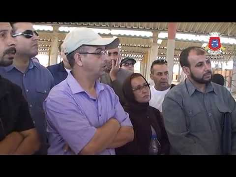 مجلس جماعة تيزنيت يقوم بزيارة تفقدية لبعض المرافق الجماعية 2015/10/03