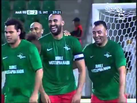 الهدف الذي سجله بطل العالم بدر هاري مع منتخب المغرب لعام 98