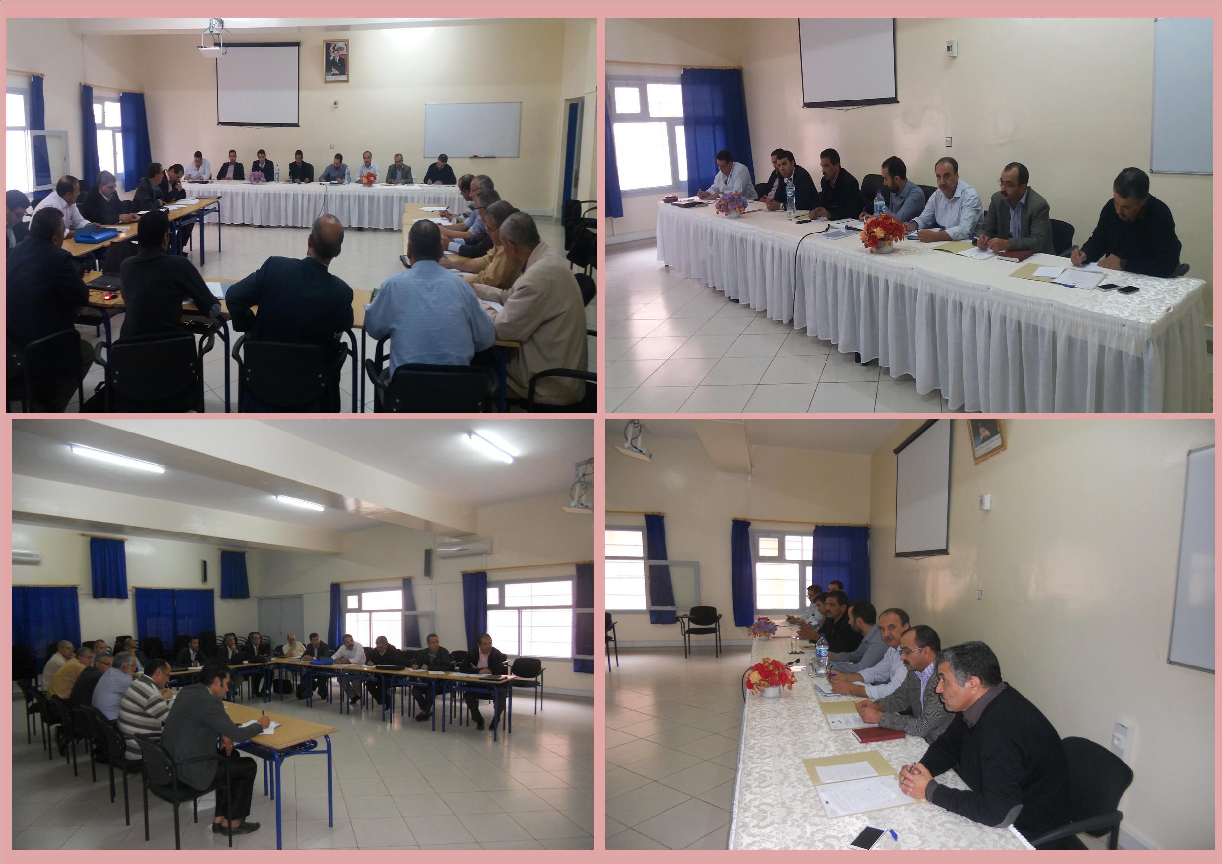 اللجنة الاقليمية لقيادة مشروع المؤسسة بنيابة تيزنيت تعقد اجتماعها الدوري لتقديم حصيلة المصادقة على المشاريع وحصيلة جماعات الممارسات المهنية