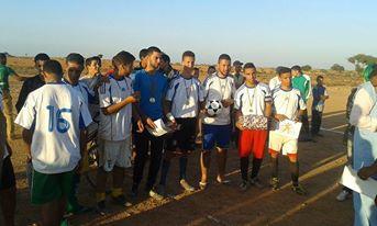 فريق اتران لارجام يكرم وفادة كل الفرق المشاركة في الدوري ويحتفل باللقب