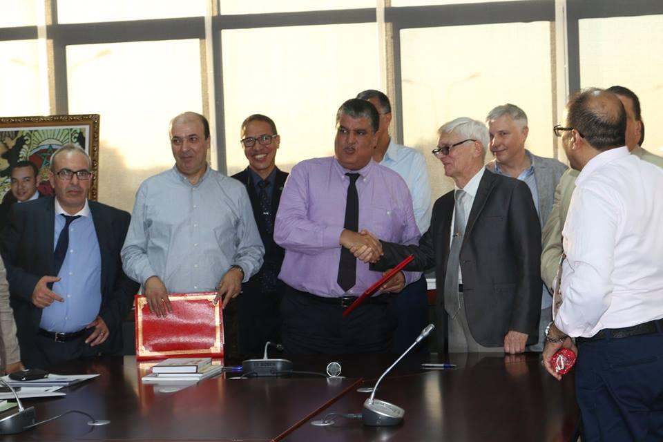 توقيع اتفاقيات بين جامعة ابن زهر و وفد جامعي روسي