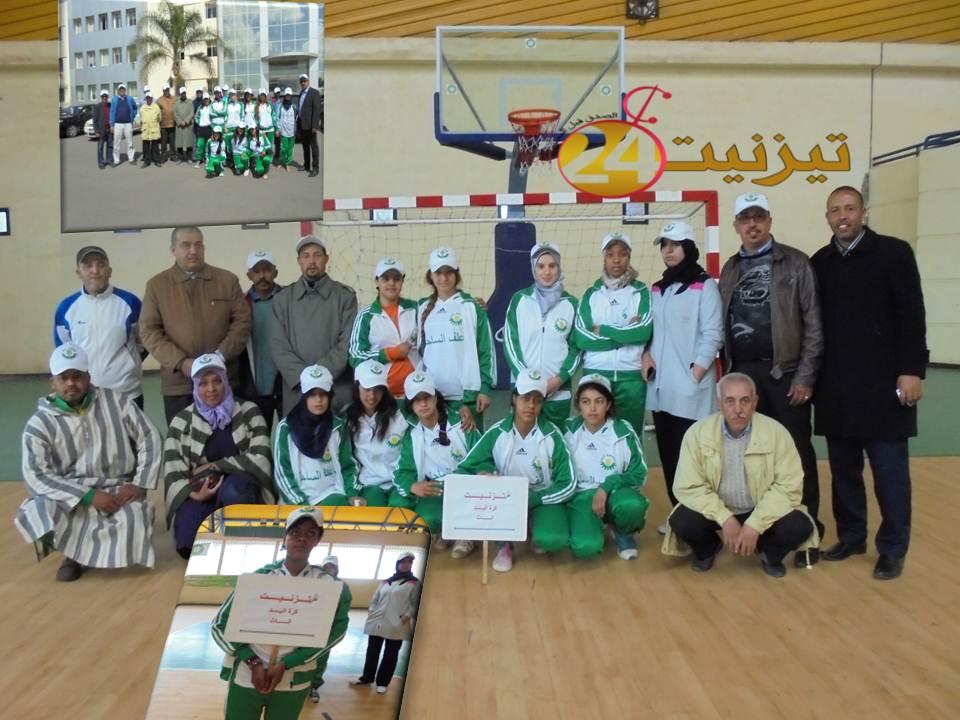 دار الطالبة إريغ تهالة فريق كسب رهان الحاضرين وبرهن على أخلاقية اللعبة بمدينة خريبكة
