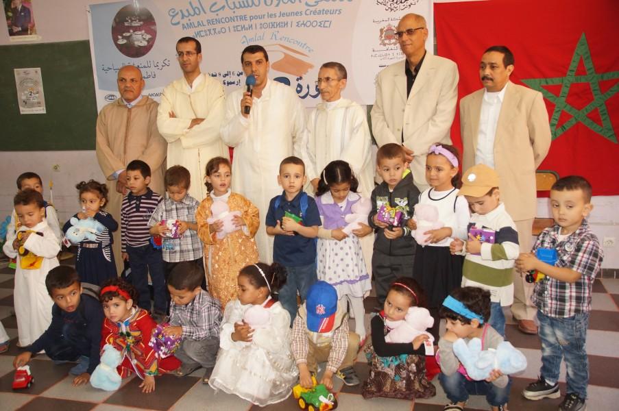 فعاليات الدورة الثانية لملتقى أملال إرسموكن للشباب المبدع