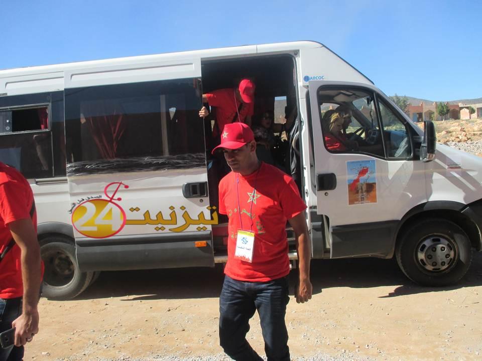 جمعية العز للصناعة الجلدية بتزنيت تستقبل قافلة الصحراء المغربية بمناسبة الذكرى 40 لانطلاق المسيرة الخضراء