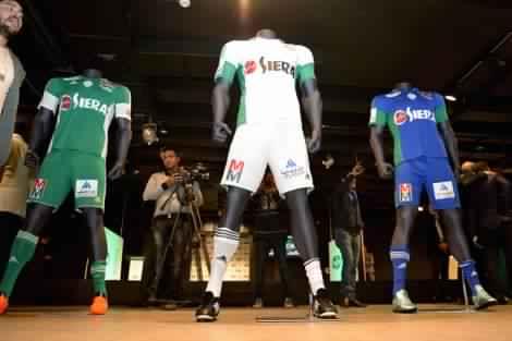 فريق الرجاء البيضاوي يقدم قميصه الرسمي الجديد