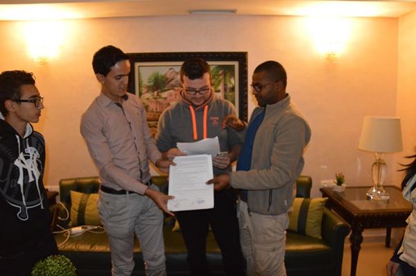 تيزنيت : توقيع عقد شراكة بين جمعية قادة الامل و جمعية الفرصة الثانية