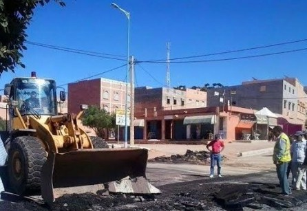 سكان بلدية الأخصاص يستفيقون على وقع حادثة سير مميتة بالمجال الحضري.