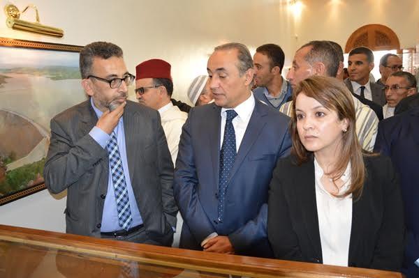 ساكنة رسموكة تطالب الوزيرة أفيلال بنصيبها من مياه سد يوسف بن تاشفين