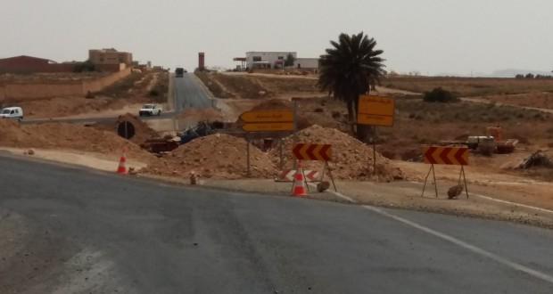 25 فبراير 2016 موعد اعلان استئناف الاشغال المتبقية في الطريق الرابطة بين تيزنيت و قنطرة ماسة