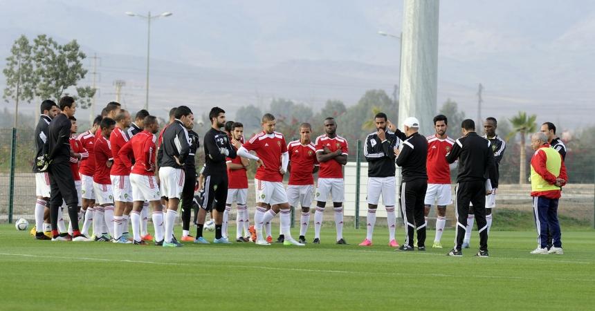 المنتخب المغربي للمحليين يفتتح مشاركته بالشان بمباراة قوية ضد الغابون