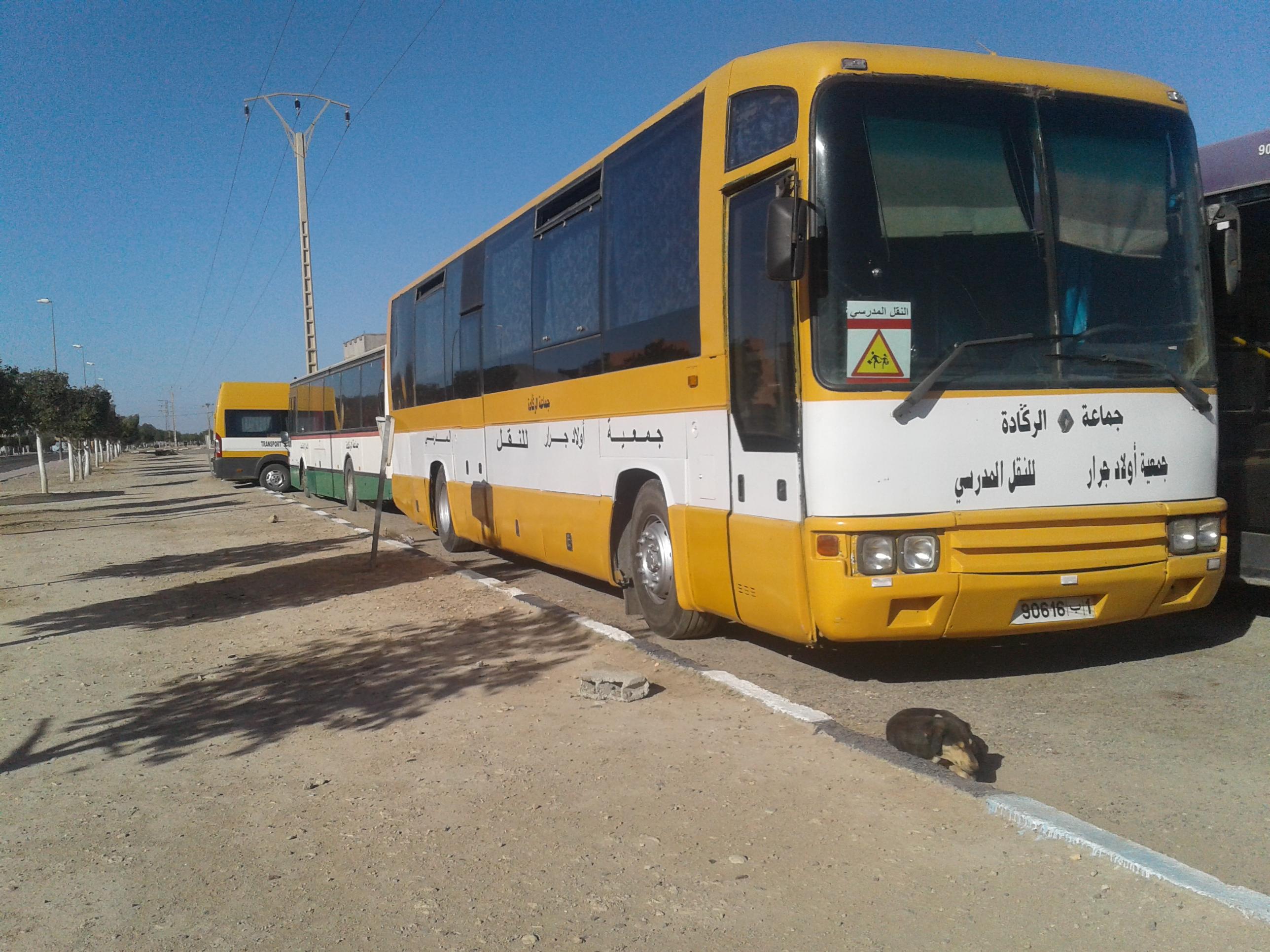 أولاد جرار : المجلس الجماعي يعزز أسطوله من الحافلات