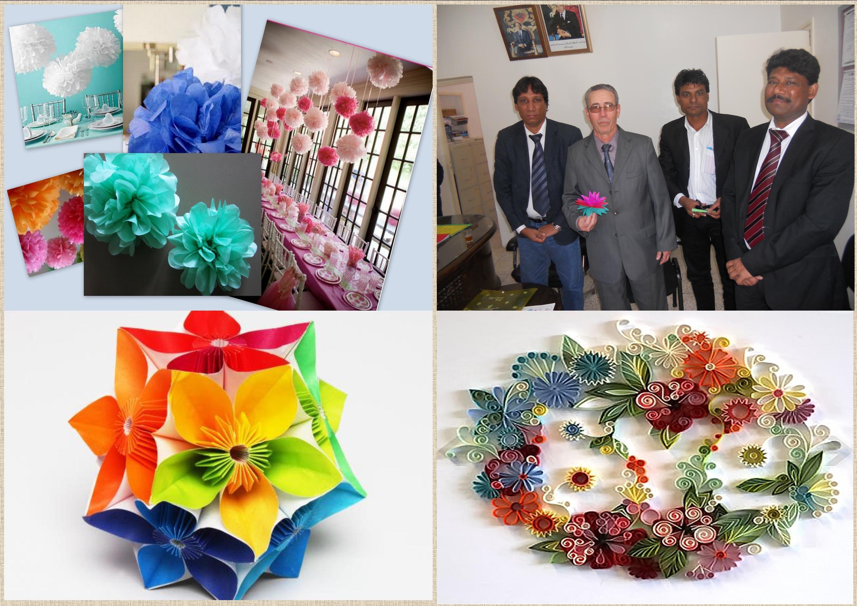 فريق فني هندي متخصص في تقطيع الورق والأشغال اليدوية يؤطر ورشات تربوية داخل المؤسسات التعليمية بنيابة تيزنيت