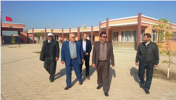 زيارة ميدانية لبعض المؤسسات التعليمية بورزازات وتارودانت