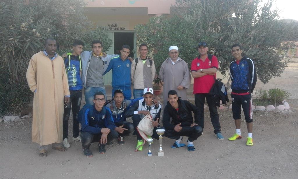 طاطا : تمنارت تفوز بالبطولة الإقليمية لكرة الطائر