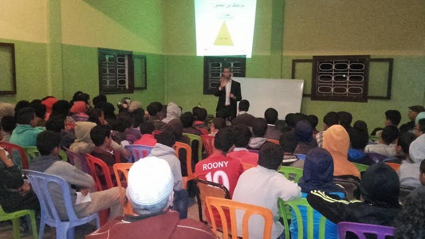 جمعية الآباء وأولياء تلاميذ الثانوية الإعدادية عمر بن شمسي بوجان تنظم دورة تكوينية لفائدة تلاميذ دار الطالب وجان