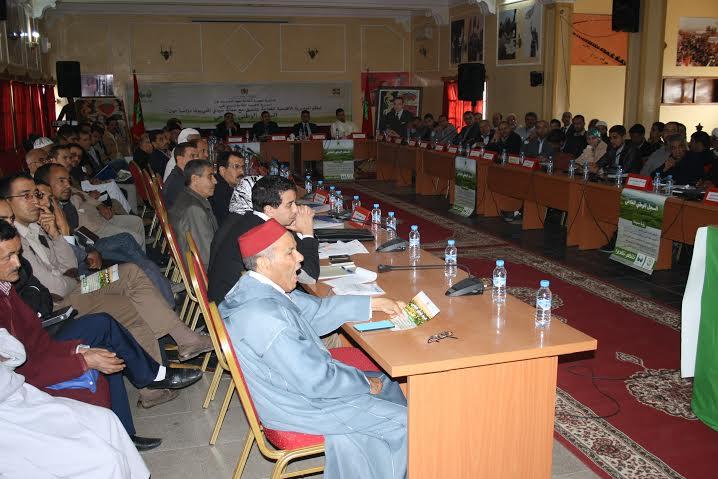 سيدي افني :المديرية الإقليمية للفلاحة تنظم يوما دراسيا لشرح  مضامينالسجل الفلاحي الوطني