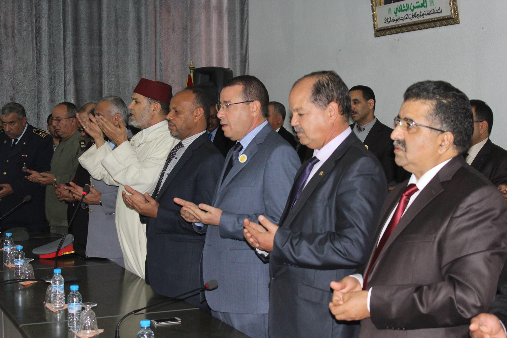 تنصيب الاستاذ عبد الله بوعرفة مديرا لأكاديمية جهة كلميم وادنون