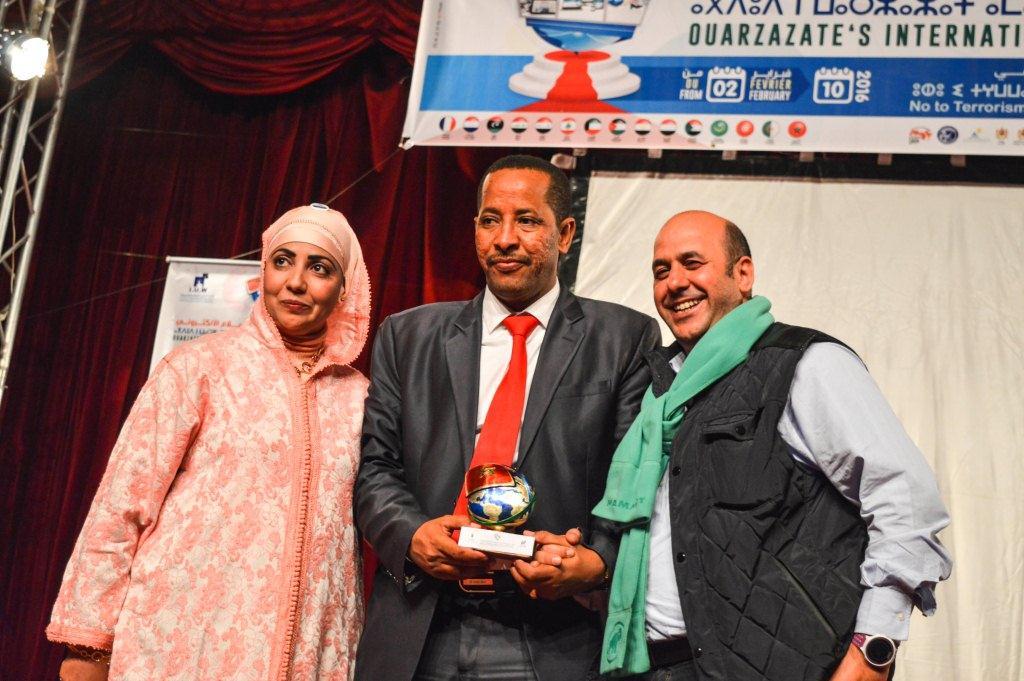 ولد إسلم و أواري يتوجان بجائزة مسابقة الورشات بفعاليات مهرجان ورزازات الدولي للإعلام الالكتروني