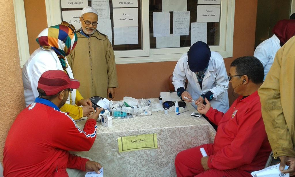 أزيد من 250 مستفيد في حملة طبية لفائدة موظفي بلدية أيت ملول