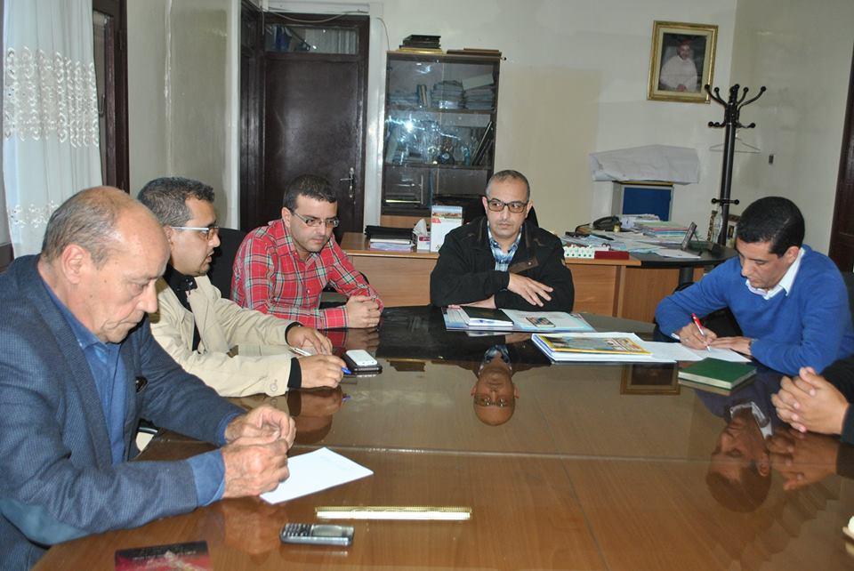 اجتماعات تمهيدية ببلدية تيزنيت لعقد النسخة السابعة من مهرجان تيمزار