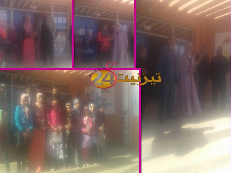 الثانوية الإعدادية محمد البقالي تيزغران تكرم أستاذاتها وتلميذاتها في عيد المرأة الأممي 