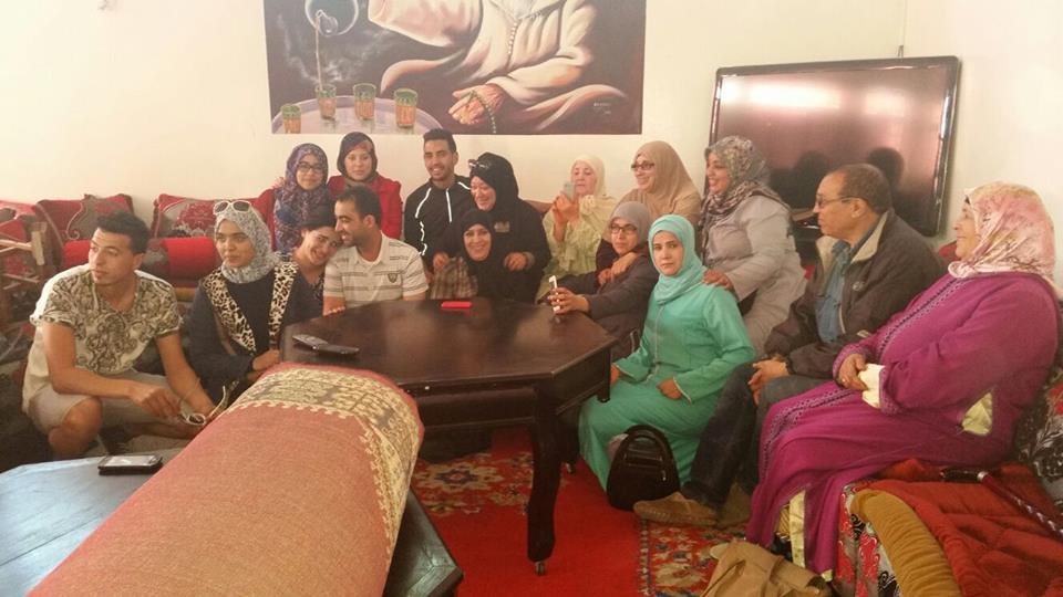 جمعيتي إزوران و ACTION ALATERNATIVE JEUNESSE يحتفلون باليوم العالمي للمرأة بدار الراحة بأكَادير