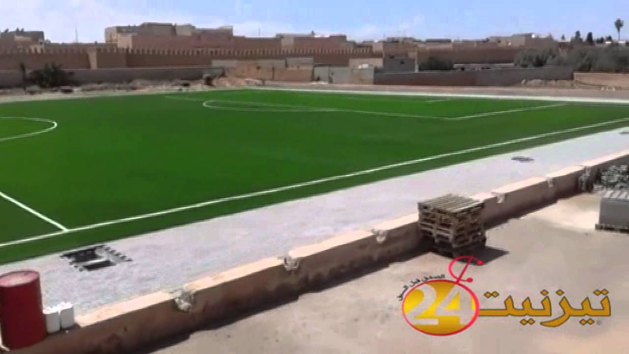 المندوبية الإقليمية لوزارة الشباب والرياضة بتيزنيت : لاوجود لاختلالات بملعب بين النخيل