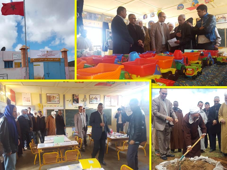 المدير الإقليمي بسيدي إفني يشرف على فعاليات الأبواب المفتوحة بمجموعة مدارس الإشعاع