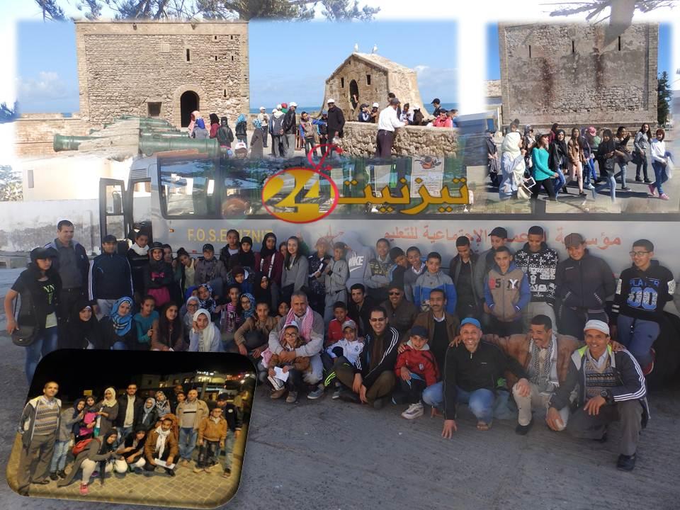 ثانوية الزيتون الإعدادية بأولاد جرار تنظم رحلة مدرسية الى مدينة الصويرة