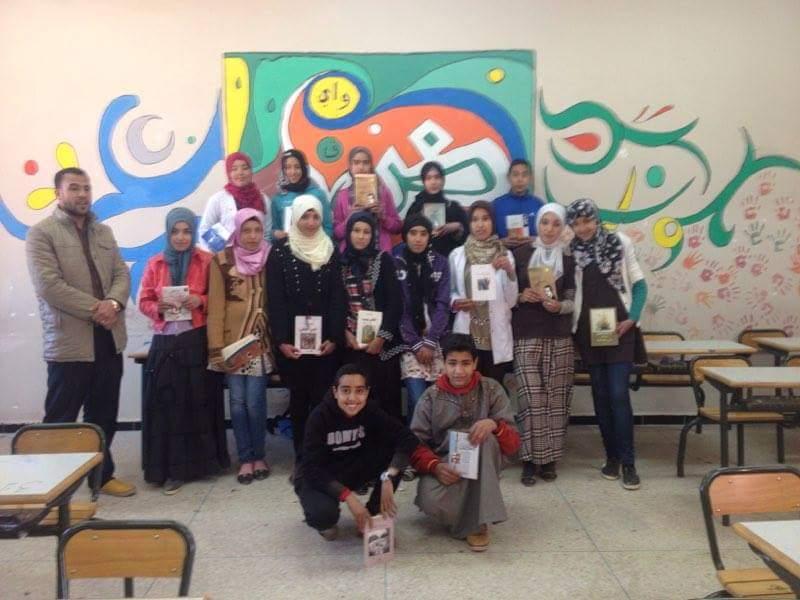"""اعدادية محمد البقالي تطلق مبادرة :""""القراءة للجميع"""""""