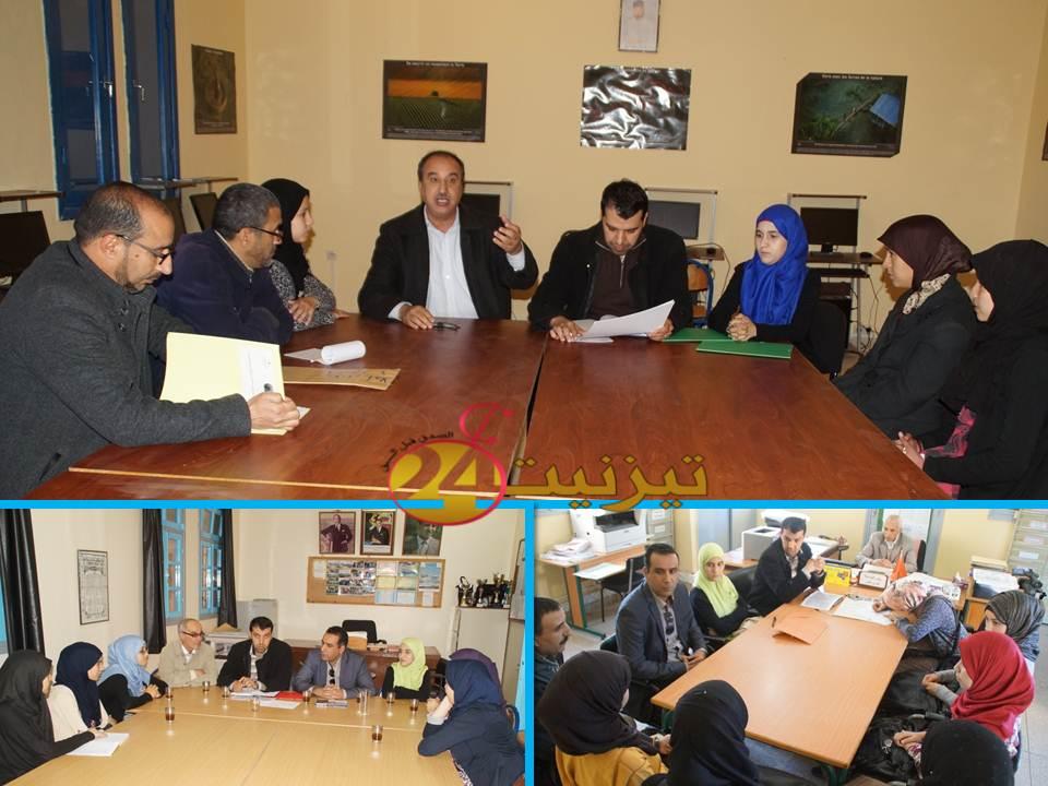 زيارات ميدانية لثانويات نيابة تيزنيت بخصوص مشروع «Une carrière pour elle 2»