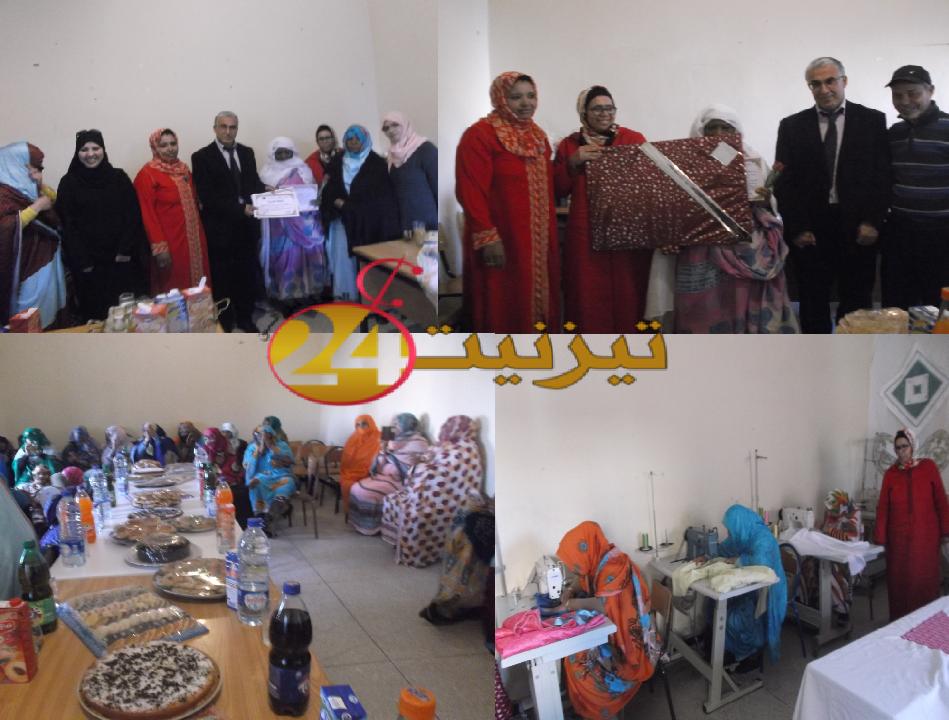مركز عين اولاد جرار يحتفي بيوم المرأة