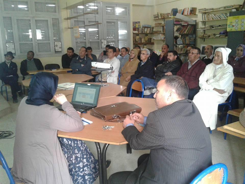 لقاء تواصلي مفتوح بمدرسة عمر الخيام بمير اللفت حول حصيلة النتائج وعتبة الانتقال